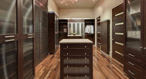 Closet Factory closets in The New American Home 2011